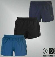 Mens Karrimor Print Logo X Lite Mesh Lightweight 3inch Shorts Sizes S-XXL