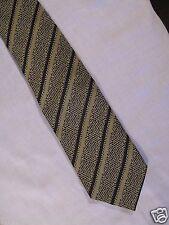 Giorgio Armani Art Deco Tie / Cravatte C#2 Green Blue and Grey