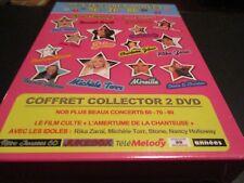 "COFFRET 2 DVD NEUF ""NOS TENDRES ANNEES 60 70 80 (NOS PLUS BEAUX CONCERTS + L'AME"