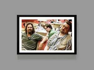 The Dude - Big Lebowski Movie Poster - Funny Movie, Poster Gift, Home Decor Gift