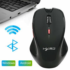 Bluetooth3.0 Wireless Optical Gaming Mouse Adjustable Dpi Mice for Laptop Tablet