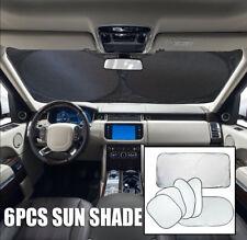 Reflective Car Windscreen Sun Shade Foldable Sunshade UV Blind Visor Protector