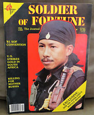 Soldier of Fortune Magazine- February 1982, Rare, Antique Back Issue