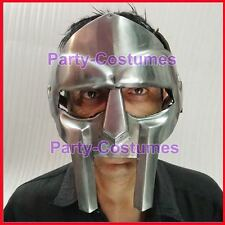 Roman Gladiator Helmet Face Mask Steel Hand Forged Doom Xmas New Year Party an@t
