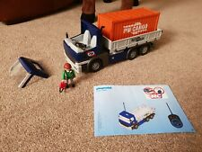 Playmobil 5255 Cargo Truck With Container