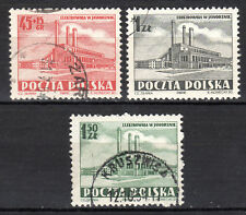 Poland - 1952 Power plant - Mi. 764-66 VFU
