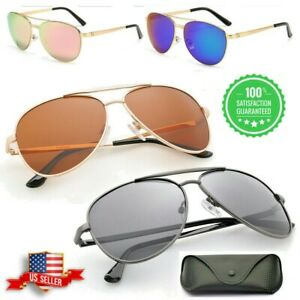 Tac Polarized Aviator Sunglasses for Women Driving Mirrored Oversized Sun Glass