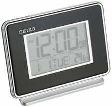 Seiko QHL068KLH Digital Bedside Alarm Clock