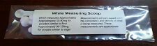50mg-90mg Measuring Scoop Spoons (5ct) - Tiny Small Micro Mini Dose Powder, Gram