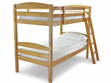 Modella Wooden Bunk Bed in Antique Pine Single Children's Kids