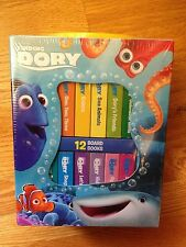 Finding Dory 12 Board Books, Disney/Pixar, brand new and factory sealed