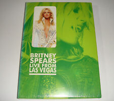 BRITNEY SPEARS - LIVE FROM LAS VEGAS (KOREA LIMITED DVD / BRAND NEW SEALED)