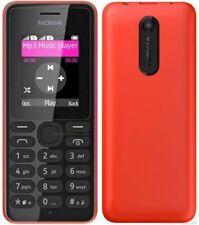 Cellulari e smartphone Nokia rosso con fotocamera