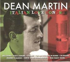 DEAN MARTIN ITALIAN LOVE SONGS - 2 CD BOX SET - VOLARE & MORE