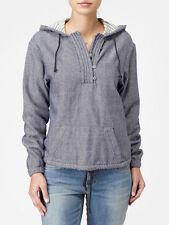 Quiksilver Women Boyfriend Pullover Hood SweaterJackets Retail 89.50