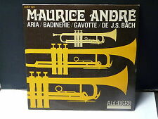 MAURICE ANDRE Aria ... LDEV 524