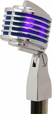Heil The Fin Dynamic Microphone Mic Chrome LED lights Live Broadcast Retro USA