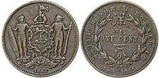 BRITISH NORTH BORNEO 1 CENT 1887 KM#2