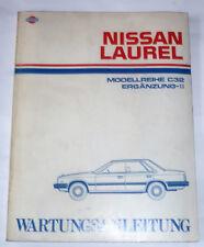 NISSAN Laurel C32 Wartungsanleitung, Repraturbuch, deutsch Oldtimer 1987
