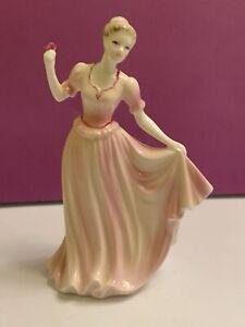 Coalport Figurine Valentine Debutante Sweetheart