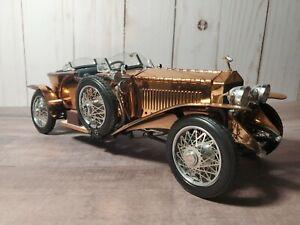 Franklin Mint 1921 Rolls-Royce Silver Ghost 1:24 Scale Diecast Model Copper Car