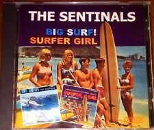 THE SENTINALS BIG SURF SURFER GIRL CD ALBUM MUSIC