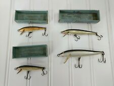 Antique Vintage Rapala Fishing Lure Made In Finland Lot Of 4 Only 3 Boxes