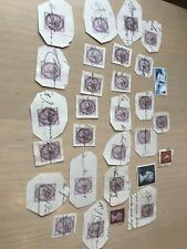 QUEEN VICTORIA STAMPs INLAND REVENUE ONE PENNY Plus £1, Plus Gipsy Moth Job Lot