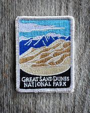 Great Sand Dunes National Park Souvenir Patch Traveler Series Iron-on Colorado