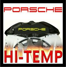 PORSCHE BOXSTER CAYMAN CAYENNE CARRERA 911 HIGH TEMP BRAKE CALIPER STICKER SET