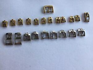 Original Vintage Omega Buckle clasp Gold Stainless Steel Buckles Ladies Gents