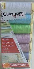 """GUTERMANN Sew-Tutti i thread set/confezione da """"Notting Hill Collezione"""" colori pastello"""