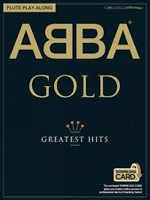 Abba Gold Greatest Hits Flute Play-Along Book and Audio New 014043799