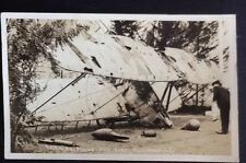 GERMAN PLANE AND AIREL TORPEDOES REAL PHOTO POSTCARD RPPC