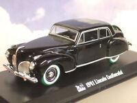 Greenlight 1/43 Sonnys 1941 Lincoln Continental Parrain Rare Poursuite Vert Pneu