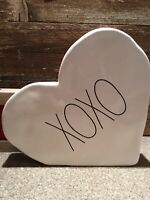 "New RAE DUNN Valentine's Day LL ""XOXO"" Heart Table Decoration By Magenta!"