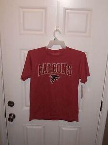 Atlanta Falcons NFL Team Apparel Matt Ryan #2 Red T-Shirt Size Adult Medium