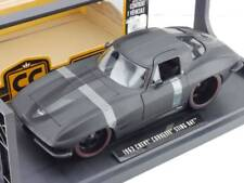 CHEVROLET CHEVY CORVETTE STINGRAY 1963 JADA 96470 1/18 1:18 STING RAY BLACK MATT