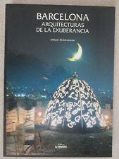 BARCELONA: ARCHITECTURES OF EXUBERANCE HC BOOK BOX SET IN ENGLISH & SPANISH