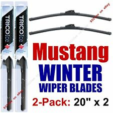 1994-2004 Ford Mustang WINTER Wipers 2-Pack Premium Beam Snow Ice Cold - 35200x2
