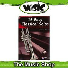 New 15 Easy Classical Solos for Trumpet Music Book & CD