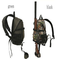 Tourbon Hunting Backpack Rifle/Shotgun Holder Molle Bag Daypack Tatcial Shooting