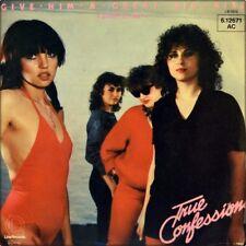 """7"""" TRUE CONFESSIONS ex CURSE Give Him A Great Big Kiss LINE Canadian Punk D 1979"""