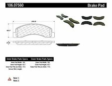 Centric Parts 106.07560 Front Severe Duty Semi Metallic Premium Brake Pad
