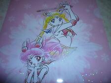 RARE Sailor moon Prism Stars Sparkling Glitter Shinny File Folder Holder # 3
