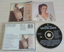 RARE CD ALBUM CRYSTAL GAYLE  CLASSIC CRYSTAL 10 TITRES 1979