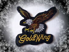 Goldwing,Adler,Patch,Aufnäher,Aufbügler,Biker,GL1200,1500,1800,Cruiser,Badge