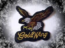 Goldwing Adler Patch Aufnäher Aufbügler Biker GL1200 1500 1800 Cruiser Badge