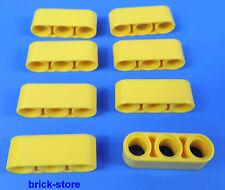 LEGO ® Technic NR - 4153707/3 FORI COLORE GIALLO buco aste-liftarm/8 pezzi