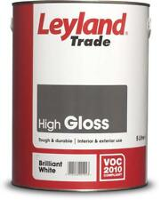 Leyland Contract Gloss White 5L - FREE Next Day Delivery